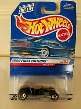 Hot Wheels 1999 First Editions Track T #12 of 26 Black Collector #917 New