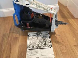 Vintage Kenner Star Wars Darth Vader Star Destroyer Playset