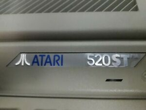 Atari 520ST Computer With Manual, original Atari mouse, Joystick ,Games. REDUCED