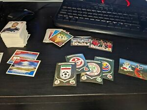 300 Pannini Russia 2018 World cup stickers