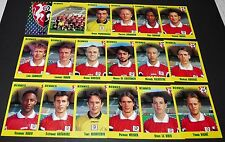 STADE RENNAIS RENNES ROAZHON COMPLETE PANINI FOOT 98 FOOTBALL 1997-1998
