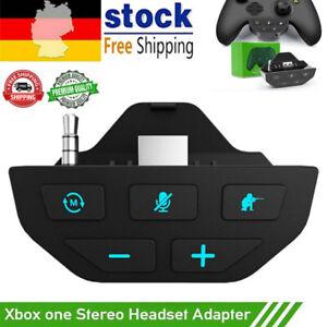 Stereo Headset Adapter Kopfhörer-Konverter für Microsoft Xbox One Controller