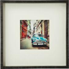 Bild Streets of Cuba 40x40 cm Holzrahmen Glas Wandbild Kuba Vintage Retro KARE