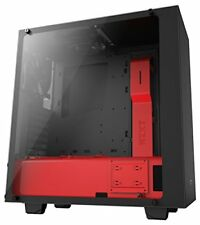 Nzxt S340 Elite Midi-tower Tempered Glas Window - Schwarz/rot Ca-s340w-b4