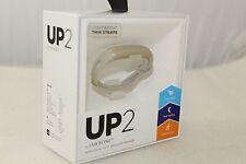 Jawbone UP2 Lightweight Thin Strap Fitness Activity Sleep Tracker Wrist Band Oat
