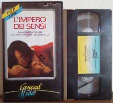 VHS FILM Ita Erotico L'IMPERO DEI SENSI general video ex nolo no dvd(VHS20)