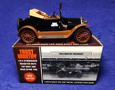 1914 Studebaker Roadster Trustworthy Hardware Bank 1:25 Die Cast Liberty Classic