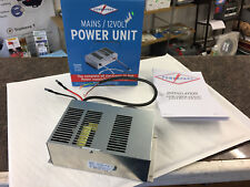 CARAVAN MOTORHOME 10 amp 12V POWER SUPPLY UNIT & BATTERY CHARGER POWERPART PO116