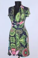 Desigual womens flowers print dress Size XS