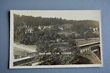 R&L Postcard: Rudyard Village Showing Railway Line nr Leek Staffordshire
