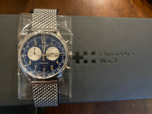 BRAND NEW CHRISTOPHER WARD C3 GRAND TOURER 39MM CHRONOGRAPH WATCH - BOXED