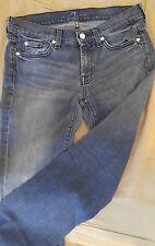 Seven for all Mankind Light Blue Denim Bootcut Women's Jeans Size 27