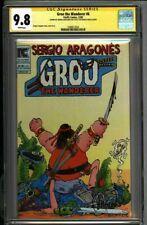 * GROO #6 (1983) CGC 9.8 Signed Sergio Aragones (1580617024) *