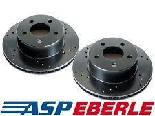 Para Jeep Cherokee KJ con ventilación delantera y traseras Almohadillas de Discos de Freno de disco sólido Set 02-07