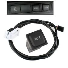 Car Audio AUX Switch + Cable For VW Volkswagen Jetta MK5 Golf GTI Tiguan New