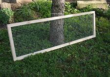 Einzelelement 100x40 cm Abdeckung Gehege Freilauf Auslauf Käfig Schildkröten