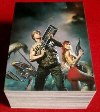 BORIS 4 - MAGNIFICENT MYTHS - COMPLETE BASE SET (90 cards) - Comic Images 1994
