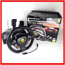 Thrustmaster Ferrari 458 Italia Xbox 360 PC Steering Wheel Pedals Racing Boxed