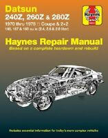 Haynes Premium 28012 Repair Manual For Models Datsun 240Z 260Z & 280Z 70-78