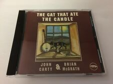 JOHN CARTY & BRIAN MCGRATH - THE CAT THAT ATE THE CANDLE - RARE CD