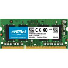 Crucial 8GB 1600 MHz Ram Speicher DDR3L RAM 204pin PC3L-12800S Notebook 1,35V