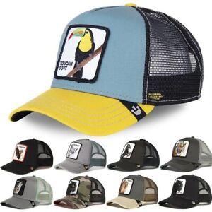 2021  New Goorin Bros Animal Farm Trucker Mesh Baseball Hat Snapback  Men Women