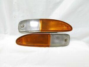 180sx JDM OEM Nissan 200sx 240sx Chuki Bumper Turn signal light Blinker 92-94