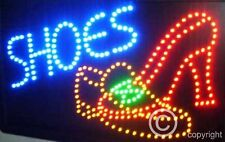 QUALITY FLASHING SHOES sandals LED sign board new window shop signs