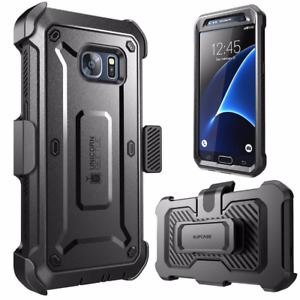 Genuine For Samsung Galaxy S7 S7Edge S7Active, SUPCASE Case with Holster Cover
