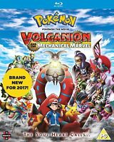Pokemon - The Movie - Volcanion And The Mecánico Marvel Blu-Ray Nuevo Blu-Ray (M