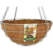 Gardman Galvanised Beehive Hanging Basket With Liner 35cm, Heavy Duty *Uk Brand