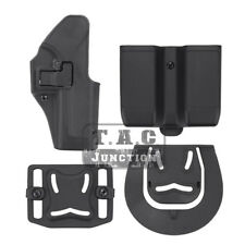 CQC Serpa Right Hand Pistol Holster w/Magazine Pouch for Glock 17 19 22 23 31 32