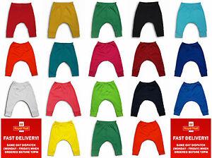 baby boygirl toddler clothes trousers leggings plain harem0-3-6-9-12-18-24months