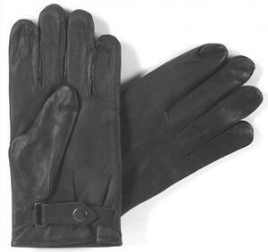 Lederhandschuhe Finger Handschuhe aus Leder schwarz Autohandschuhe NEU