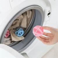 2pcs Waschmaschine Haarentfernung Gerät Kleidung Wäsche Ball Waschen Bälle G3D