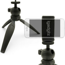 Mini Table Top Tripod Stand with Smartphone Holder Mount Bracket Adapter
