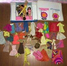 Lot Of Vintage Barbie Dolls World Of Barbie Case Other Dolls Clothes Accessorie