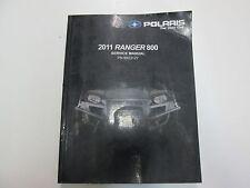 2011 Polaris Ranger 800 Service Repair Workshop Shop Manual NEW FACTORY OEM