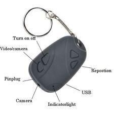 Mini HD Hidden Spy Camera  Car Fob Key Ring Video Recorder Keyring Keychain 808