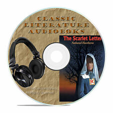 THE SCARLET LETTER NATHANIEL HAWTHORNE CLASSIC AUDIOBOOK LITERATURE MP3 CD-A70