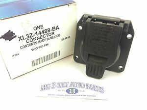 Ford Expedition Lincoln Navigator 7 Pin Trailer Harness PLUG OEM XL3Z-14489-BA