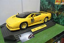 JAGUAR XJ220 jaune de 1992 au 1/12 MAISTO 33203 voiture miniature