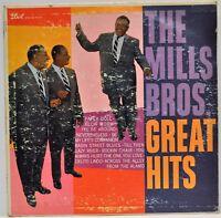 """The Mills Bros. Great Hits"" Dot Ultra Recording DLP 3157 1959 Vinyl"