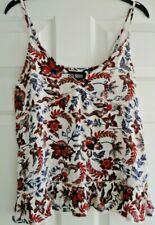 BNWOT SUPERDRY TOP SIZE 10 SUMMER LADIES GIRLS FLORAL CAMISOLE