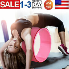 Yoga Roller Wheel Ring Abdominal Exerciser Stretching Relaxation Indoor Fitness