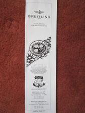 7/1992 PUB MONTRE BREITLING WATCHES SUISSE OLD NAVITIMER CHRONOGRAPH ORIGINAL AD