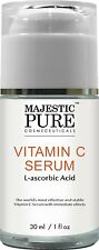 Majestic Pure Vitamin C Serum for Age Spots,Wrinkles, Sun Damage Dark Circle   S