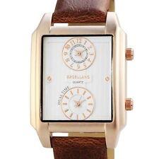 Excellanc Armbanduhren aus Kunstleder mit 12-Stunden-Zifferblatt