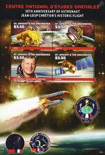 CNES: astronauta Jean-Loup Chrétien/SPOT// Sret 2 Jason hoja de sellos de espacio de satélite