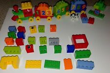 Lego Duplo Building Set 10558 Number Train (MISSING BOY) and 24 extra pieces